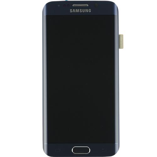 Samsung Galaxy S6 Edge LCD Refurbished - Grade A - Blue - No frame & no  button
