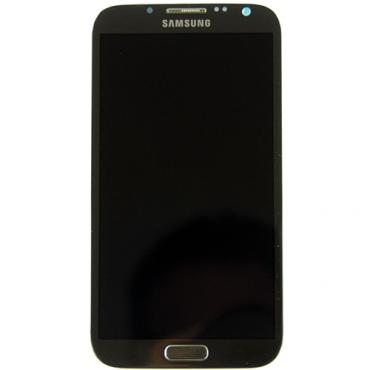 Samsung Galaxy Note 2 N7100 LCD Refurbished - Grade A - Black - No frame & no button