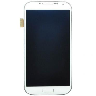 Samsung Galaxy S4 I9505 LCD Refurbished - Grade A - White - No frame & no button