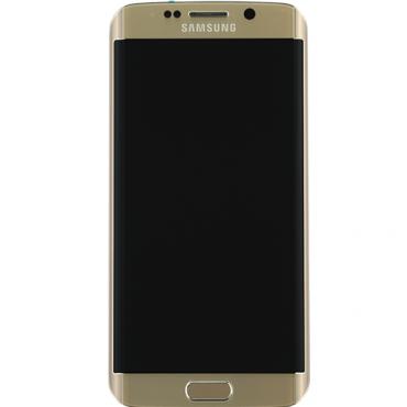 Samsung Galaxy S6 Edge LCD Refurbished - Grade A - Gold - No frame